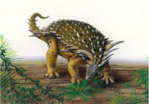 Descubre la NASA huella de Dinosaurio - Nodosaurus
