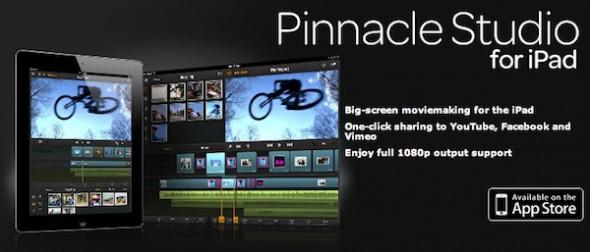 Pinnacle Studio, un excelente editor de videos para iPad - Pinnacle-Studio-iPad-590x252