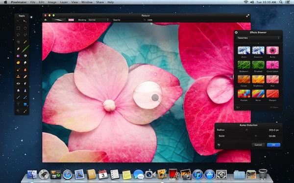 Pixelmator se actualiza a la versión 2.1 y es compatible con Mountain Lion - Pixelmator-2-1