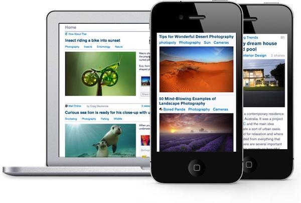 Prismatic, la red de noticias según tus intereses lanza su aplicación para iPhone - Pristamatic-iphone