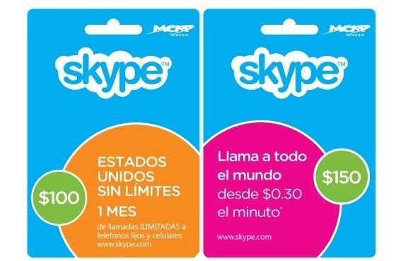 Skype venderá tarjetas de prepago en México - Skype-Cards