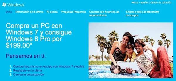 Windows 8 actualizacion Microsoft comienza el programa de actualización a Windows 8