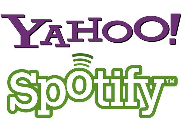 Yahoo! y Spotify anuncian poderosa alianza - Yahoo-Spotify
