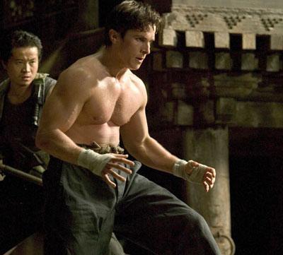 batman begins La transformación de Christian Bale a través de los años