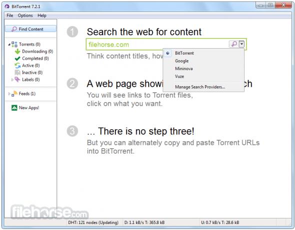 BitTorrent, el clásico cliente para torrents - bittorrent-screenshot-01-590x459