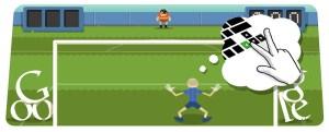 Adiós productividad de viernes: Un nuevo Doodle de fútbol por parte de Google