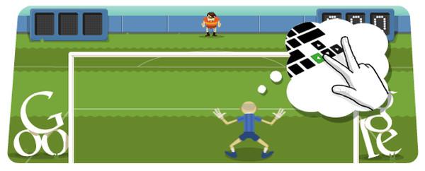 Adiós productividad de viernes: Un nuevo Doodle de fútbol por parte de Google - google-doodle-futbol