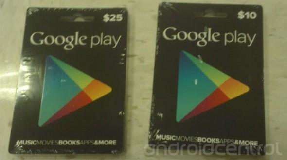 google play cards 590x330 Google Play introducirá tarjetas de prepago para comprar apps y contenido