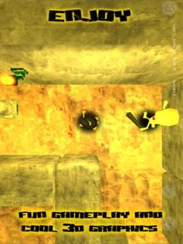 Juego de aventuras maya para iPhone, Escape From Xibalbá - juego-maya-celular