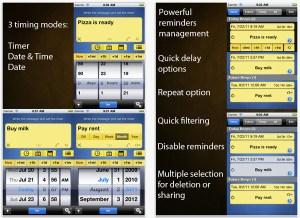 Recordatorios y administrador de tareas con Beep Me para iOS