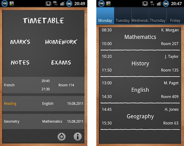 Mantente organizado en este regreso a clases con School Helper para Android - school-helper