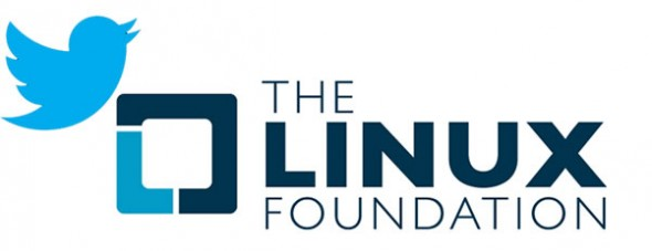 twitter linux foundation 590x227 Twitter se une a Linux Foundation #LinuxCon