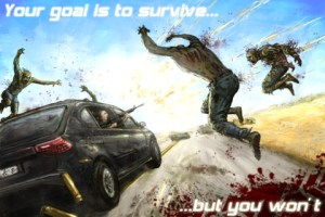 Zombie Highway, divertido juego para arrollar zombies en la carretera