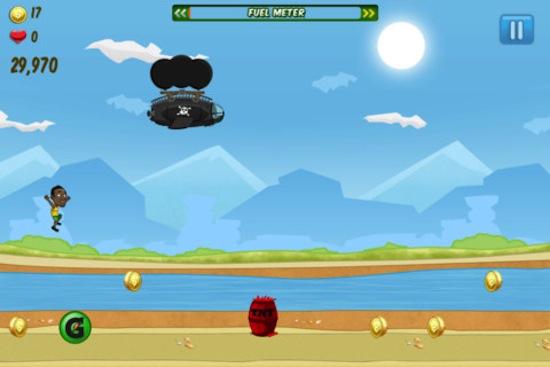 Corre tan rápido como Usain Bolt en tu iPhone - Bolt-juego-ios