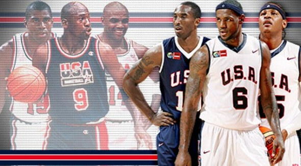 NBA 2K13 presenta su tráiler con el Dream Team del 92 vs el Team USA 2012 - Dream-Team-1992-vs-2012-590x325