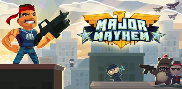 Major Mayhem, un adictivo juego de guerra para iOS y Android - Major-Mayhem