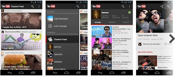 Youtube para Android se actualizó a la versión 4.1.23 con nuevo diseño para Froyo y Gingerbread - actualizacion-youtube
