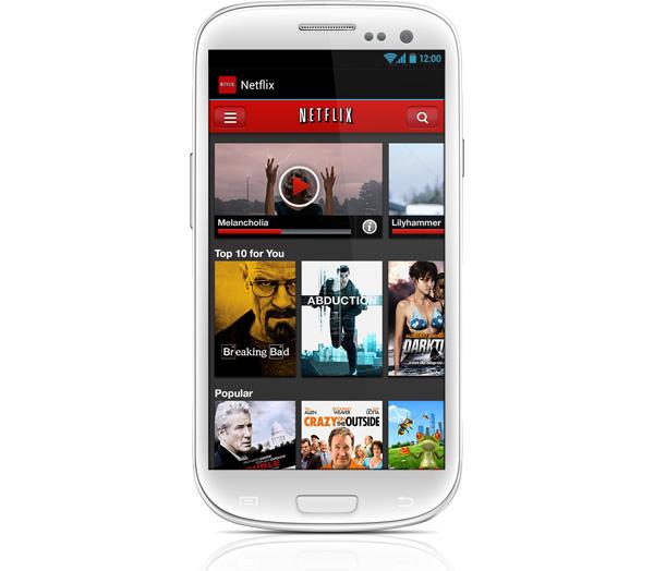 Netflix presenta su nueva versión para Android - android_netflix