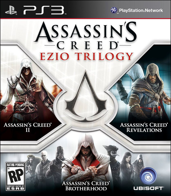 Assassin's Creed y su trilogía de Ezzio Auditore por 39 dólares en exclusiva para PS3 - assassins-creed-trilogia-ps3