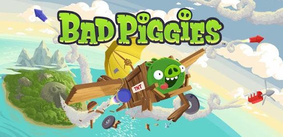 Bad Piggies ya se encuentra disponible para descargar en iOS y Android - bad-piggies-disponible