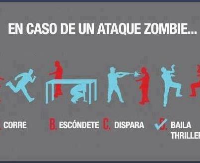 Qué podemos hacer en caso de una invasión zombie [Humor] - baila-triller