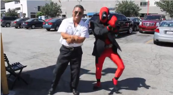 deadpool vs gangman style Video de la semana: Deadpool vs Gangnam Style