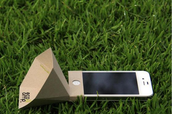 Amplificadores ecológicos para tu iPhone - eco-amp