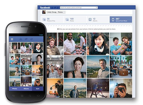 facebook para android Facebook prueba función para subir fotos desde Android