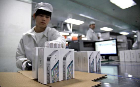 foxconn iphone 5 La empresa Foxconn destina más de 150,000 empleados para completar la demanda del iPhone 5