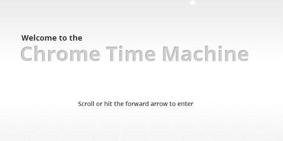 Google Chrome celebra 4 años con una linea del tiempo interactiva - google-chrome-time-machine