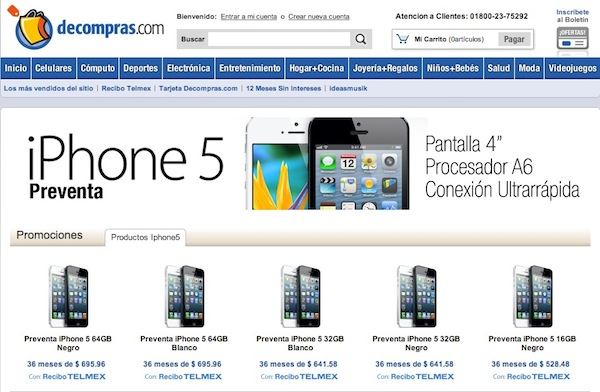 Inicia preventa de iPhone 5 con Telmex - iPhone-5-preventa-mexico