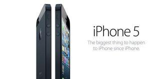 iPhone 5 supera las 5 millones de unidades vendidas en su primer fin de semana