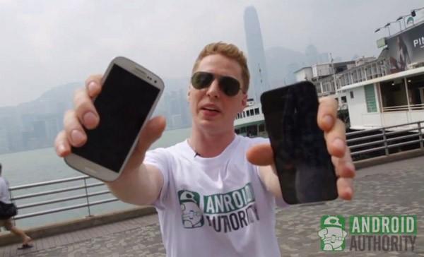 iPhone 5 vs Galaxy SIII en una prueba de resistencia a las caídas - iphone-5-vs-samsung-galaxy-s3-drop-test