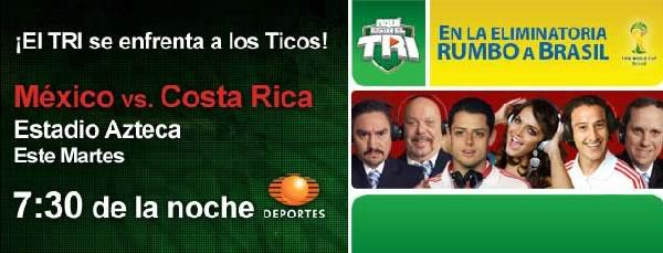 México vs Costa Rica en vivo (Eliminatorias Brasil 2014) - mexico-vs-costa-rica-online