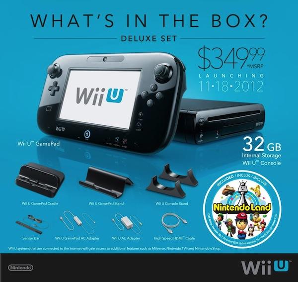 Nintendo anuncia los precios y fechas oficiales de lanzamiento de la Wii U en Estados Unidos - nintendo-wii-u-deluxe1