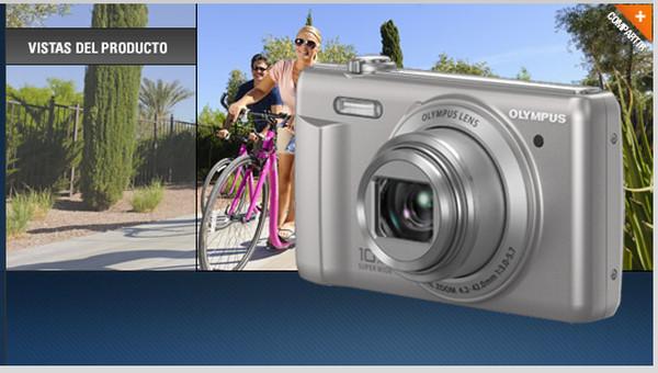 Olympus presenta en México la nueva cámara VR-350 - olympus-vr-350