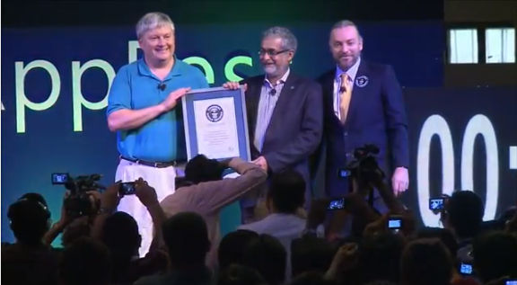 Microsoft consigue record guinness de más participantes en el Windows AppFest en India - record-guinness-microsoft