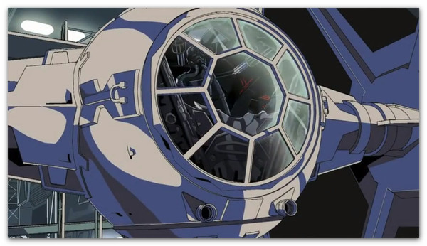 star wars anime Star Wars Anime, video animado hecho por fans