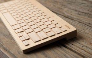 Orée, interesante teclado inalámbrico de madera