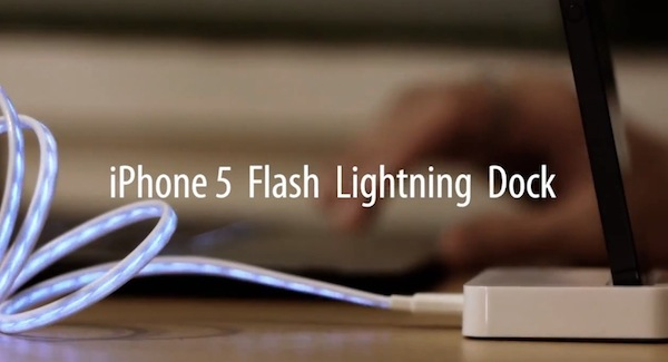Dock con cable lightning para iPhone 5 no oficial aparece en la red - Dock-cable-lightning-iphone-5