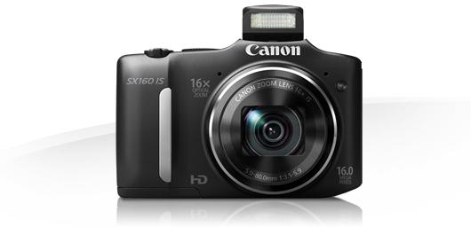 PowerShot SX160 IS Canon presenta en México su renovada línea de cámaras Powershot