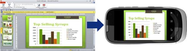 Aplicaciones para controlar tus presentaciones de PowerPoint - Powerpoint-smartphone