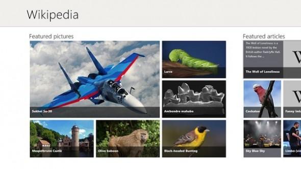 3 apps para disfrutar Windows 8 - Wikipedia-Windows-8-590x332