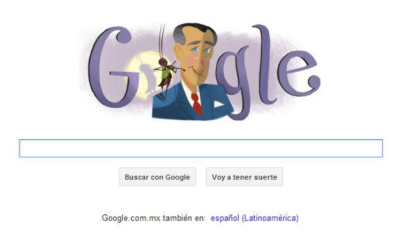 Doodle por el 105 aniversario del natalicio de Francisco Gabilondo Soler (Cri Cri) - doodle-de-cri-cri