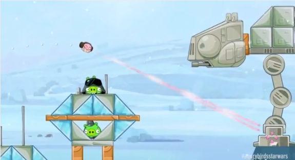Rovio nos presenta el primer gameplay de lo que será Angry Birds Star Wars [Video] - gameplay-angry-birds-star-wars