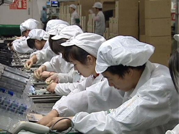 Huelga por la producción del iPhone 5 en Foxconn - huelga-en-foxconn