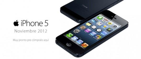 iPhone 5 iusacell 590x249 iPhone 5 en México la primera semana de noviembre con Telcel, Iusacell y Movistar