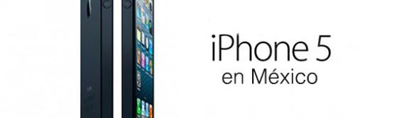 iPhone 5 en México la primera semana de noviembre con Telcel, Iusacell y Movistar - iPhone-5-mexico-590x167
