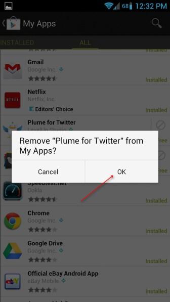 Cómo borrar aplicaciones desde Google Play en tu Android - play-store-paso-4