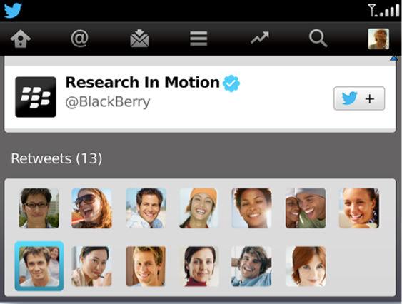 Twitter para BlackBerry se actualizó a la versión 3.2 - twitter-para-blackberry-v-3_2